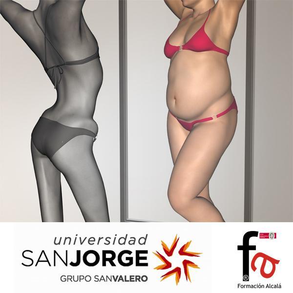 CERTIFICADO POR LA UNIVERSIDAD SAN JORGE. Curso superior en anorexia y bulimia nerviosa