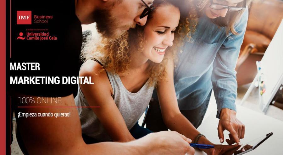 Máster en Marketing y Comunicación Digital