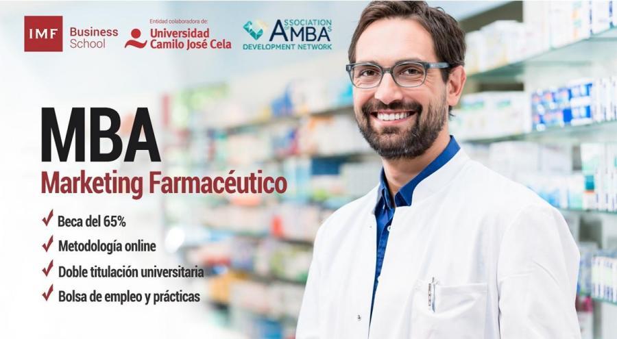 Máster en Dirección y Administración de Empresas (MBA), Especialidad en Marketing Farmacéutico